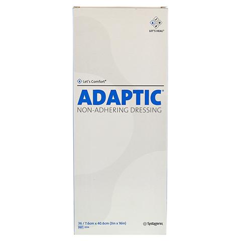ADAPTIC 7,6x40,6 cm feuchte Wundauflage 2014 36 Stück