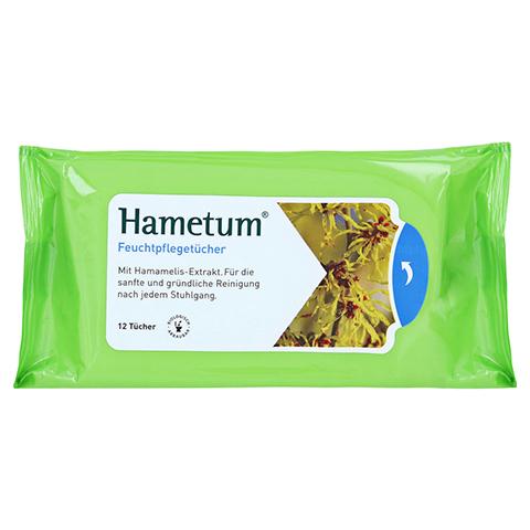Hametum Feuchtpflegetücher 12 Stück