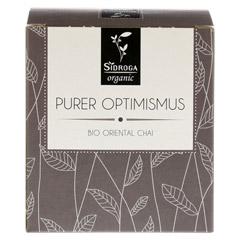 SIDROGA organic purer Optimismus Filterbeutel 12 Stück - Vorderseite