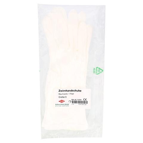 HANDSCHUHE OP Baumwolle Gr.9 2 Stück