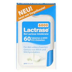 LACTRASE 6.000 FCC Tabletten im Klickspender 60 Stück - Vorderseite
