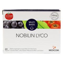 NOBILIN Lyco Kapseln 60 Stück - Vorderseite