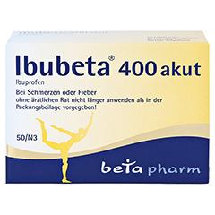 Ibubeta 400 akut 50 Stück N3 - Vorderseite