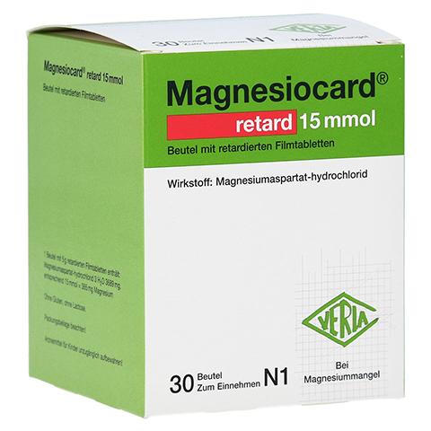 Magnesiocard retard 15 mmol 30 Stück N1