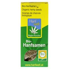 HANFKORN Bio Hanfsamen 150 Gramm - Vorderseite