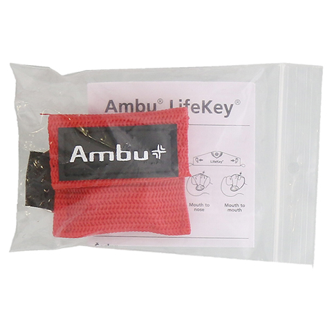 AMBU LifeKey Softcase rot 1 Stück