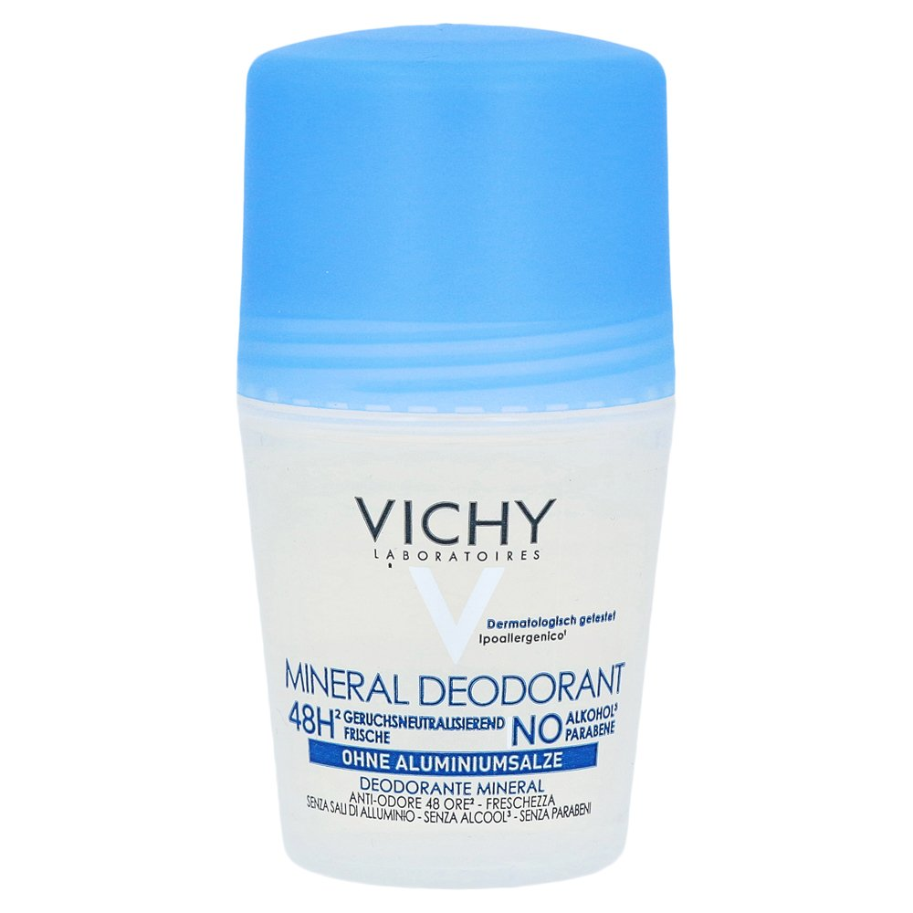 vichy deo roll on mineral 48h ohne aluminium 50 milliliter online bestellen medpex versandapotheke. Black Bedroom Furniture Sets. Home Design Ideas