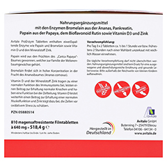 PROENZYM magensaftresistente Tabletten 810 Stück - Rückseite