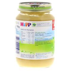 HIPP Früchte Äpfel m.Bananen 190 Gramm - Linke Seite