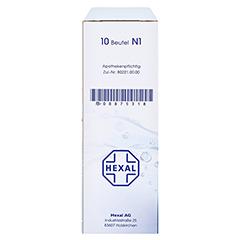 Macrogol HEXAL plus Elektrolyte 10 Stück N1 - Linke Seite