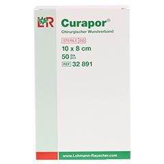 CURAPOR Wundverband steril chirurgisch 8x10 cm 50 Stück - Vorderseite