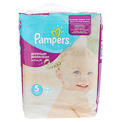 PAMPERS Active Fit Gr.5 junior 11-25kg Sparpack 23 Stück - Vorderseite