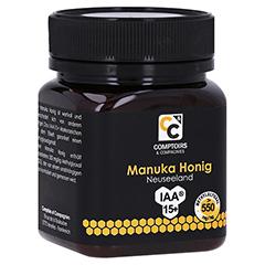 MANUKA HONIG MGO 550 250 Gramm - Vorderseite