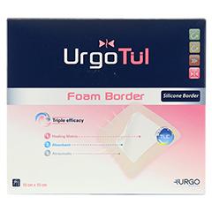 URGOTÜL Foam Border 10x10 cm Verband 10 Stück - Vorderseite