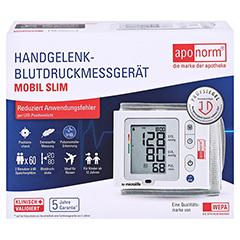 APONORM Blutdruckmessgerät Mobil Slim Handgelenk 1 Stück - Vorderseite