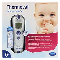 THERMOVAL baby sense non-contact Infrarot-Fiebert. 1 Stück - Vorderseite
