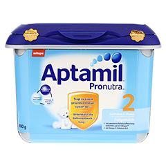 APTAMIL Pronutra 2 Folgemilch SAFEBOX Pulver 800 Gramm - Vorderseite