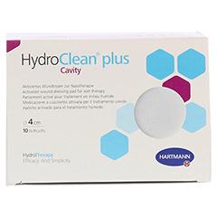 HYDROCLEAN plus cavity Kompressen 4 cm steril rund 10 Stück - Vorderseite