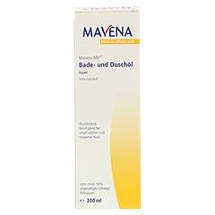MAVENA MH Bade- und Duschöl 200 Milliliter - Vorderseite