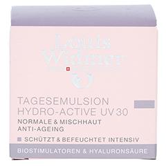 WIDMER Tagesemulsion Hydro-Active UV30 leicht parfümiert 50 Milliliter - Vorderseite