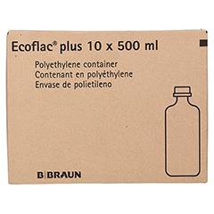 GELAFUNDIN 4% Ecoflac plus Infusionslösung 10x500 Milliliter N2 - Vorderseite