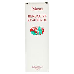 BERGGEIST Gewürz Kräuter Öl 100 Milliliter - Vorderseite