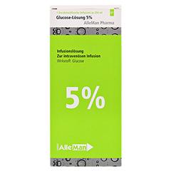 GLUCOSE 5% DELTAMEDICA Infusionslösung Plastikfl. 10x250 Milliliter N2 - Vorderseite