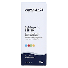 DERMASENCE Solvinea Emulsion LSF 30 150 Milliliter - Vorderseite