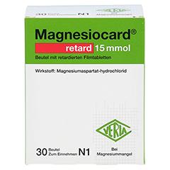 Magnesiocard retard 15 mmol 30 Stück N1 - Vorderseite