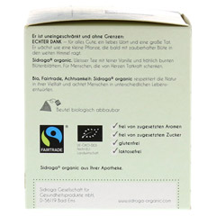 SIDROGA organic echter Dank Filterbeutel 12 Stück - Rechte Seite
