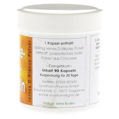 RIBOSE Aktiv 500 mg Kapseln 90 Stück - Rechte Seite