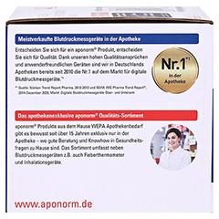 APONORM Blutdruckmessgerät Mobil Slim Handgelenk 1 Stück - Linke Seite