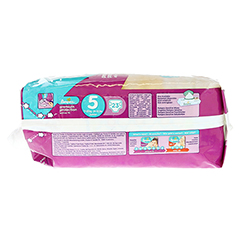 PAMPERS Active Fit Gr.5 junior 11-25kg Sparpack 23 Stück - Linke Seite