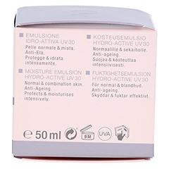 WIDMER Tagesemulsion Hydro-Active UV30 leicht parfümiert 50 Milliliter - Linke Seite