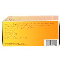 FOLSÄURE HEVERT 5 mg Ampullen 100 Stück - Linke Seite