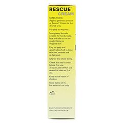 BACH ORIGINAL Rescue Creme 30 Gramm - Linke Seite