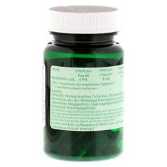 ASTAXANTHIN 4 mg Kapseln 30 Stück - Rückseite