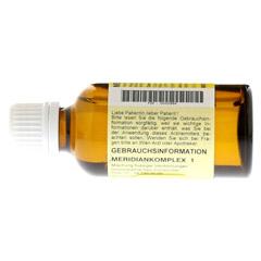 MERIDIANKOMPLEX 1 Tropfen zum Einnehmen 50 Milliliter N1 - Rückseite