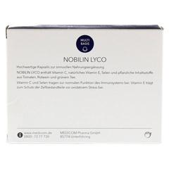 NOBILIN Lyco Kapseln 60 Stück - Rückseite