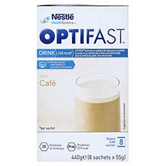 OPTIFAST home Drink Kaffee Pulver 8x55 Gramm - Rechte Seite