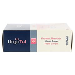 URGOTÜL Foam Border 10x10 cm Verband 10 Stück - Rechte Seite