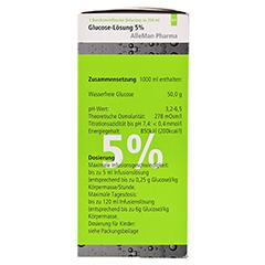 GLUCOSE 5% DELTAMEDICA Infusionslösung Plastikfl. 10x250 Milliliter N2 - Rechte Seite