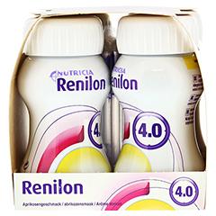 RENILON 4.0 Aprikosengeschmack flüssig 6x4x125 Milliliter - Rechte Seite
