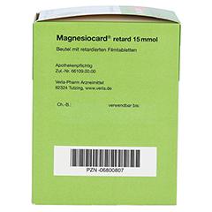 Magnesiocard retard 15 mmol 30 Stück N1 - Rechte Seite