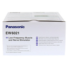 PANASONIC EW6021 Muskelstimulator TENS 1 Stück - Unterseite
