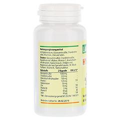 HYALURON 50+Glucosamin 1.000/TG Kapseln 60 Stück - Rückseite