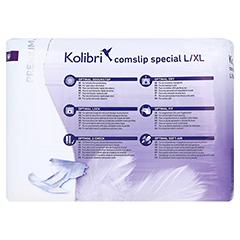 KOLIBRI comslip premium special Gr.L/XL 120-170 cm 28 Stück - Rückseite