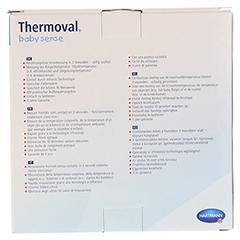 THERMOVAL baby sense non-contact Infrarot-Fiebert. 1 Stück - Rückseite