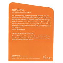 BALDINI Feelwärme Bio Öl+Geschenkverpackung 5 Milliliter - Rückseite