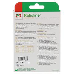 RATIOLINE Hallux valgus Druckschutzpolster Gr.L 1 Stück - Rückseite